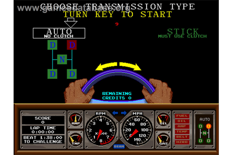 Hard Drivin' - Arcade - Games Database