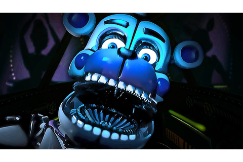 INSIDE FREDDYS FACE/BONNIES BOW TIE -Five Nights At Freddy ...
