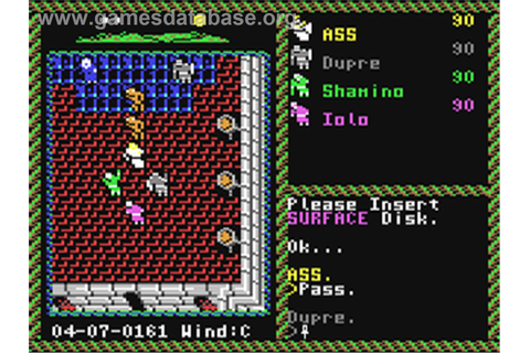 Ultima VI: The False Prophet - Commodore 64 - Games Database