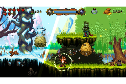 FOX n FORESTS Is An Upcoming 16-Bit Style Platformer - Hey ...