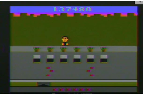 Atari 2600 / VCS - Crackpots - NTSC - Game 1, Difficulty B ...