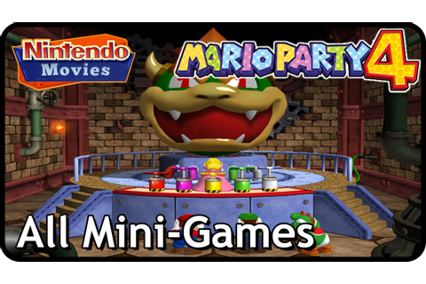 Mario Party 4 - All Mini-Games - YouTube