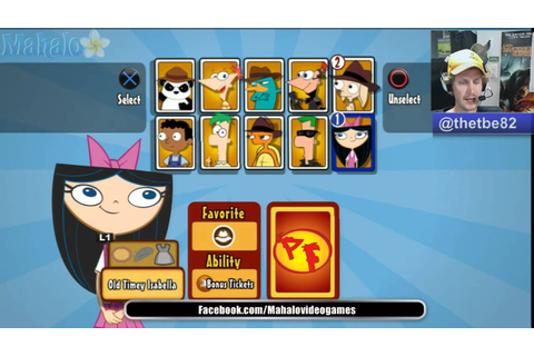 Phineas and Ferb Across the 2nd Dimension All Characters ...