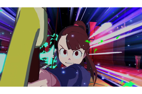 Little Witch Academia Chamber of Time Official Trailer ...