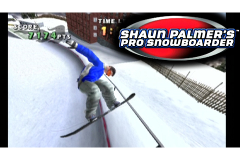 Shaun Palmer's Pro Snowboarder ... (PS2) - YouTube