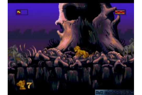 [Longplay N°26] Le Roi Lion (MegaDrive) - YouTube