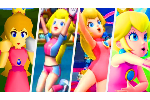 Evolution of Princess Peach in Super Mario Sports Games ...