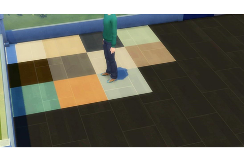 Les Sims 4 détente au Spa sol 03 - Next Stage