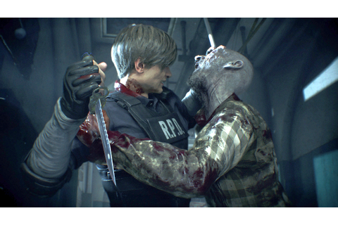 "Creating Resident Evil 2's gory ""world of wetness and ..."