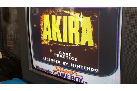 Unreleased Akira Game Found For The Game Boy