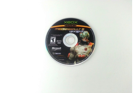 MechAssault 2 Lone Wolf game for Xbox (Loose) | The Game Guy