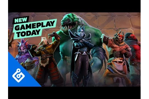 New Gameplay Today – Dota Underlords - YouTube