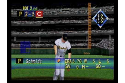World Series Baseball '98 Sega Saturn - YouTube