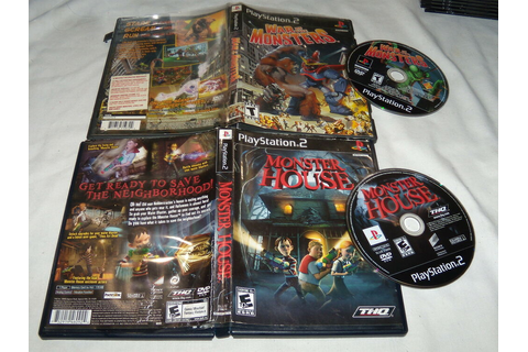 Monster House & War of the Monsters - Playstation 2 PS2 ...