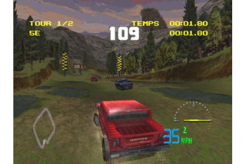 4X4 World Trophy (1999) by Infogrames PS game
