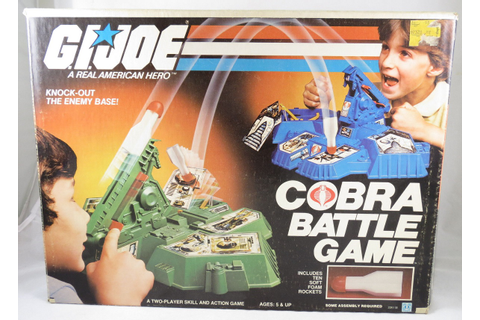 G.I. Joe: A Real American Hero: Cobra Battle Game (1982 ...