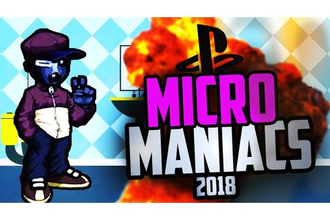 Micro Maniacs in 2018 (ps1) - YouTube