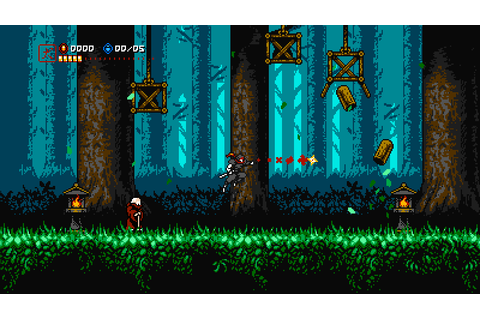 Cyber Shadow - NES style Ninja game under development ...