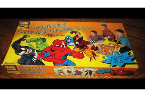 MY Marvel Super Heroes Game by Pressman - YouTube