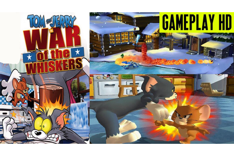 Tom & Jerry In War of The Whiskers Gameplay PS2 HD - YouTube