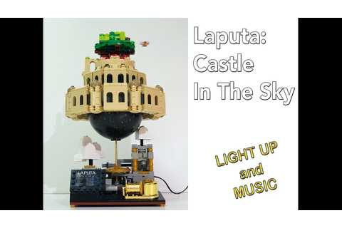 Laputa: Castle In The Sky - Lego (Canceled) by ...