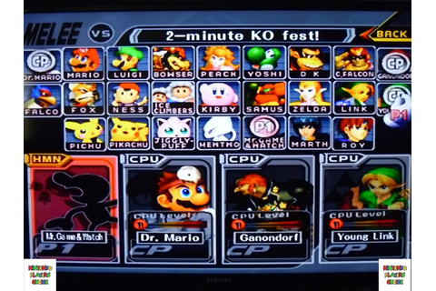 Memory Card Super Smash Bros Brothers Melee Gamecube ...