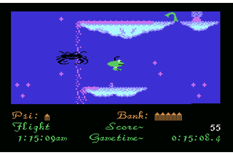 Gribbly's Day Out, Commodore 64 – The King of Grabs