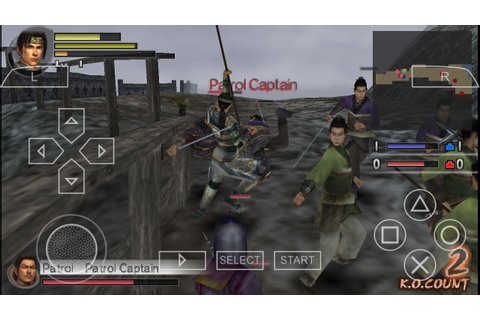 Dynasty Warriors Vol 2 PSP ISO Free Download & PPSSPP ...