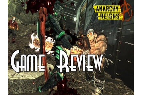 """Anarchy Reigns"" Review - VBR - YouTube"