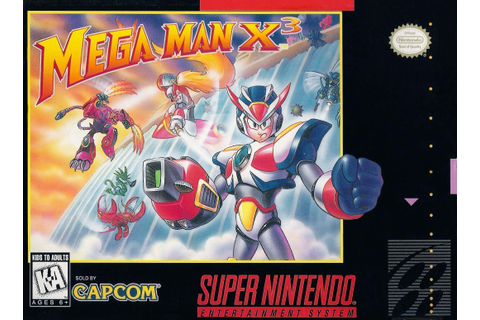 Mega Man X 3 ROM - Super Nintendo (SNES) | Emulator.Games