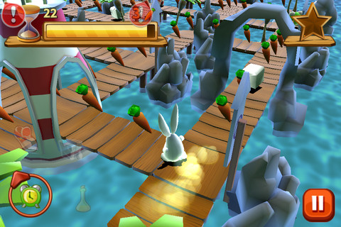 Bunny Maze 3D App for iPad - iPhone - Games