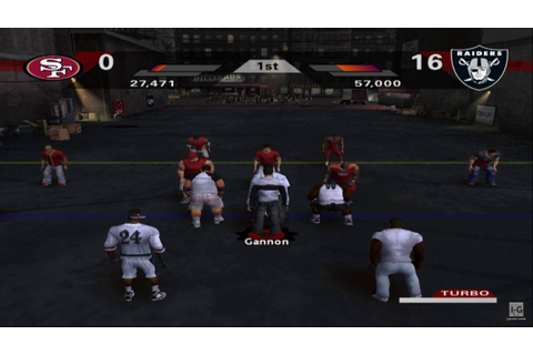 NFL Street 2 PS2 Gameplay HD - YouTube
