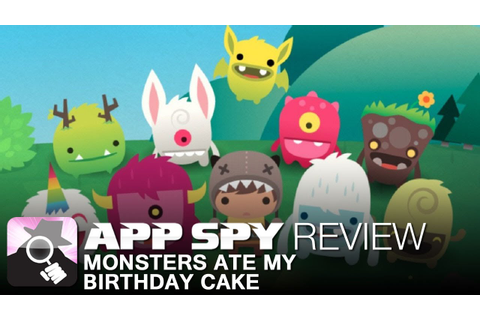 Monsters Ate My Birthday Cake | iOS iPhone / iPad Gameplay ...