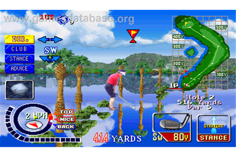 Konami's Open Golf Championship - Arcade - Games Database