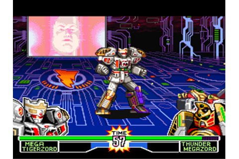 Mighty Morphin Power Rangers - The Fighting Edition (USA) ROM