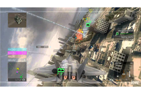Tom Clancy's HAWX Xbox 360 Gameplay - Chicago Dog Fight ...