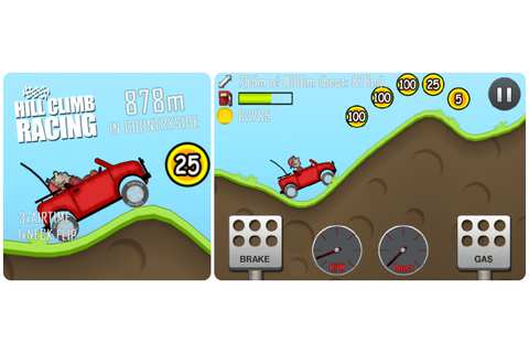 One Pebble Cab: Game Review: Hill Climb Racing