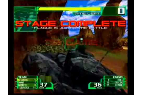 Alien front online Seganet Game footage (2001) - YouTube