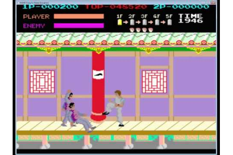 Kung Fu Master! The Original 80's Arcade - YouTube