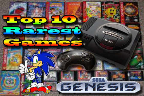 Top 10 Rarest Sega Genesis Games | Most Exspensive Sega ...