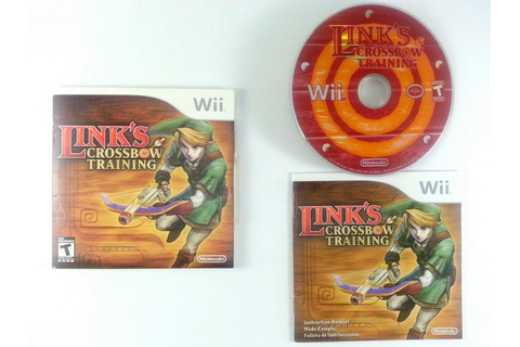 Link's Crossbow Training game for Wii (Complete) | The ...