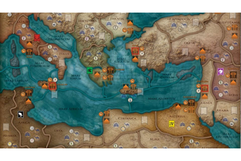 Mare Nostrum - Empires board game MAP | GAMING - WAR ...