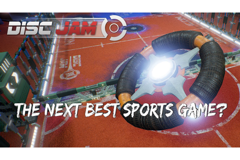 Disc Jam (Beta) | This years best sports indie game? - YouTube