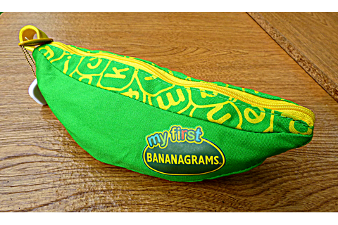 Chez Maximka: My First Bananagrams