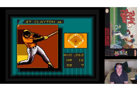 Random New Game - Game 3: [SNES] Relief Pitcher - YouTube