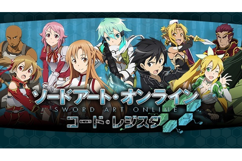 Sword Art Online: Code Register – 3 virtual worlds collide ...