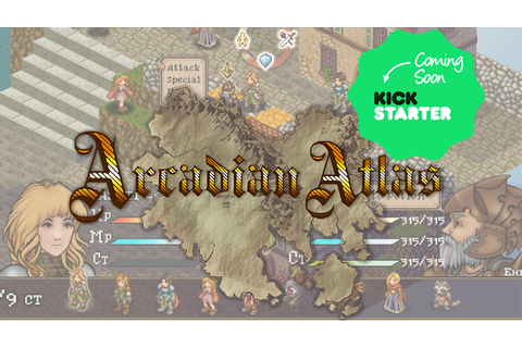 Arcadian Atlas Prepares for Kickstarter news - Indie DB