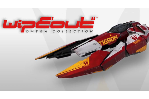 WipEout Omega Collection - Official Tigron Ship Trailer ...