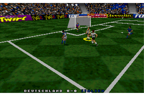 Actua Soccer (1995) by Gremlin Graphics / Interplay MS-DOS ...