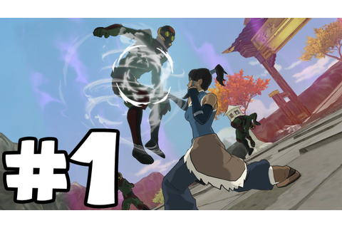 The Legend of Korra Walkthrough - PT. 1 - A New Era Begins ...